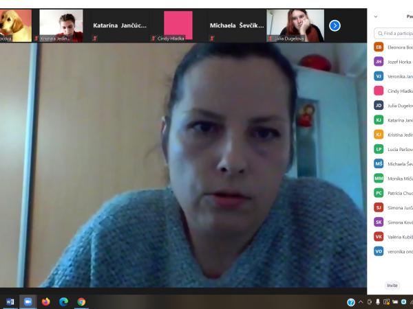 Odborná online diskusia našich kynológov s veterinárkou